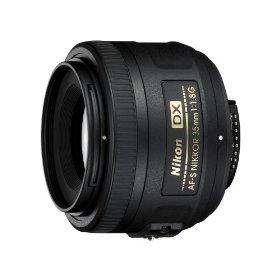 Nikkor 35mm f/1.8G AF-S DX Nikon Lens