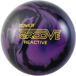 Brunswick Power Groove Urethane Black Purple Solid