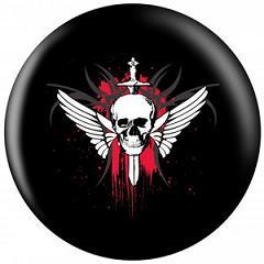 OTB Winged Skull Bowling Ball