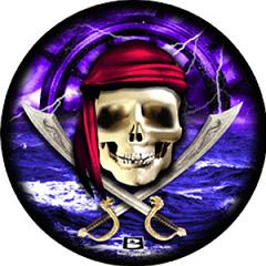 Pirate Skull Viz-A-Ball