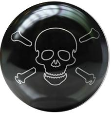 Brunswick Skull Bowling Ball