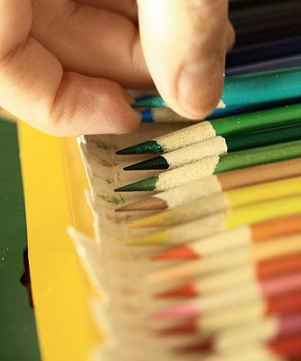 choose color pencil by D Sharon Pruitt