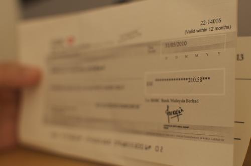 Nuffnang HSBC Cheque 2