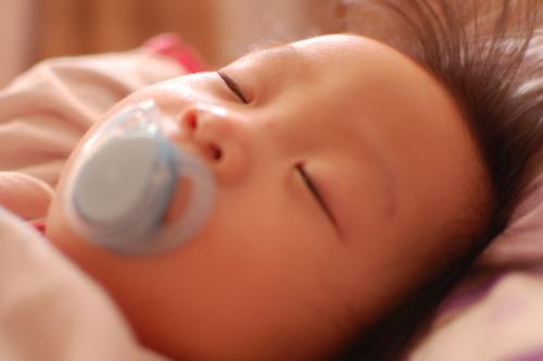Rachel Chang sleeping toddler