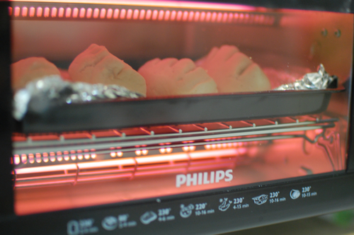 baking bread in philips toaster oven