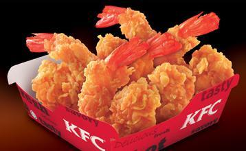 KFC Hot and Spicy Shrimp Logo