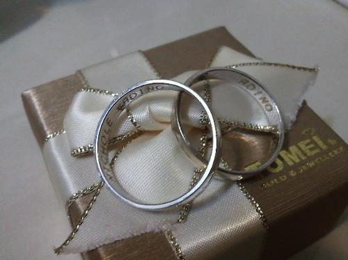 Adino and Nichole wedding rings