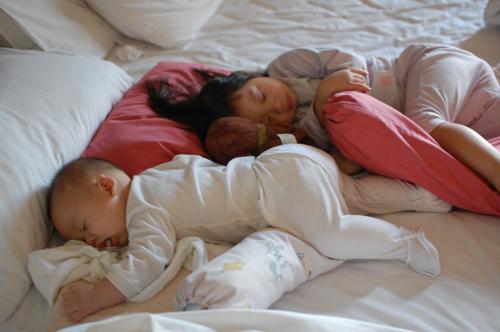 kids sleeping in penang