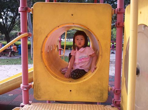 rachel at the park  1