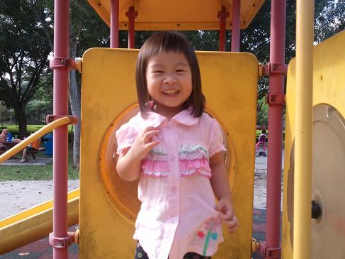 rachel at the park 2