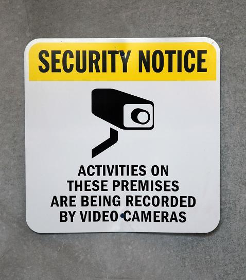 security camera by Robert Linder