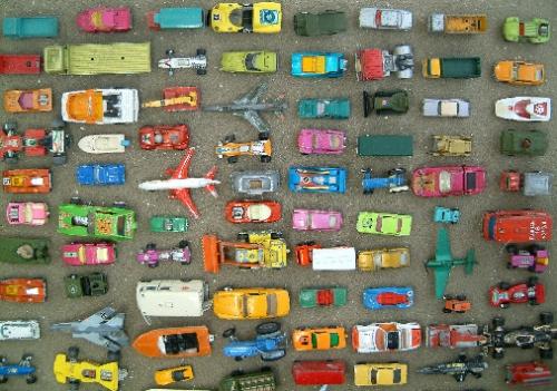 Boys toys by Marcel Hol