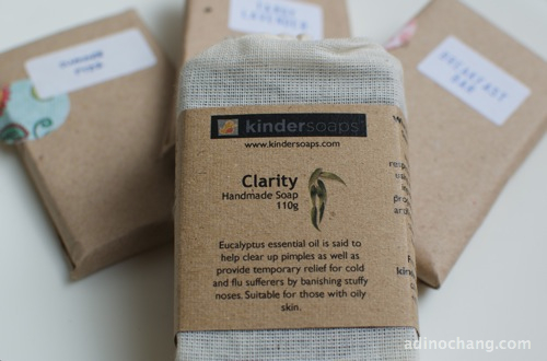 kindersoaps clarity and sampler packs