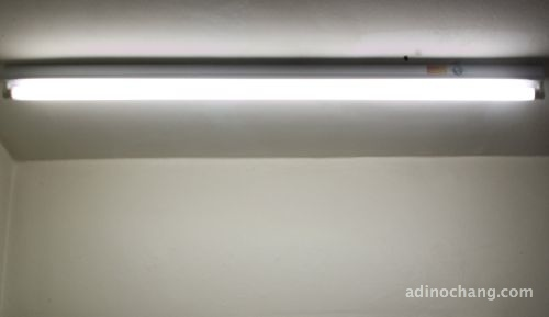 new fluorescent light
