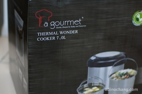 la gourmet 7L thermal cooker box