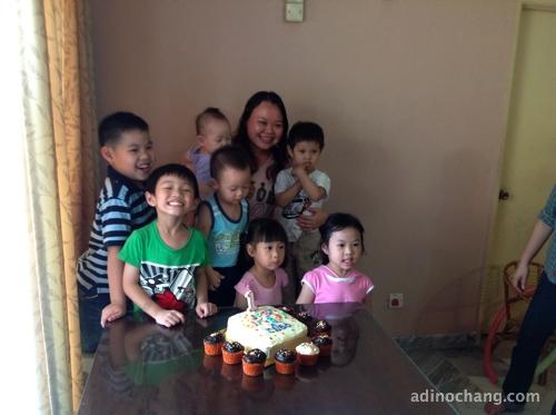 caleb birthday party