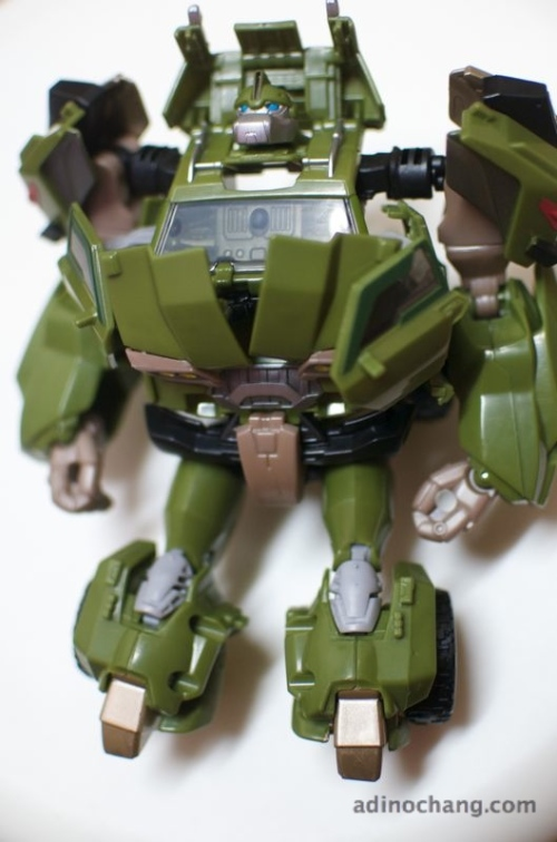 transformers prime bulkhead first edition full length robot mode